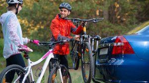 Cykelhållare i olika material